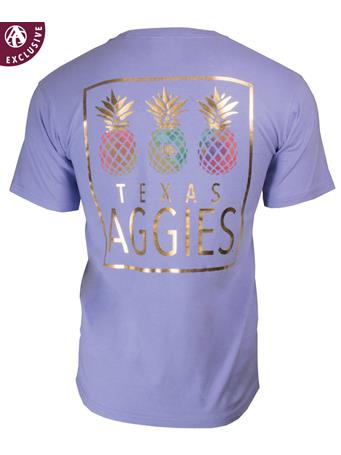 Texas A&M Aggies Pineapple Pick T-shirt