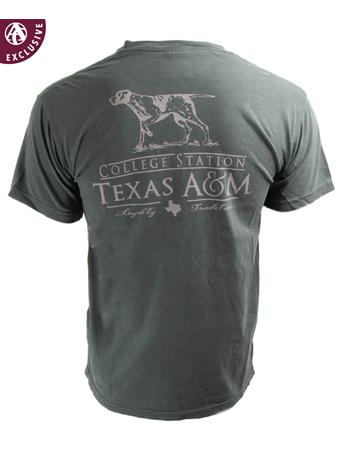 Texas A&M Aggies Pointer Loyalty Tradition T-Shirt