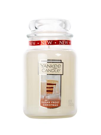 Sugar Frost Christmas 22oz Yankee Candle
