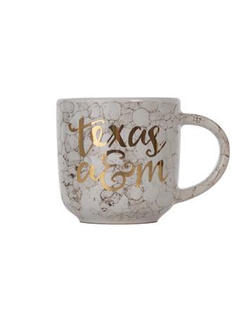Texas A&M Gold Foil Mug