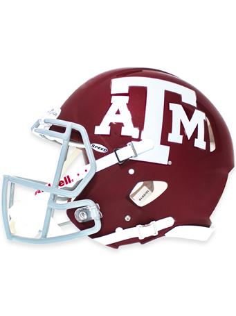 Riddell Texas A&M Speed Authentic Matte Football Helmet