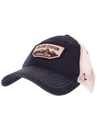 Zephyr Navy Trademark Cap