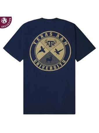 Texas A&M Aggies Cross Hunting T-Shirt