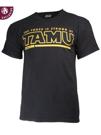 Texas A&M The Force Is Strong at TAMU T-Shirt