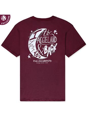 Texas A&M Youth Love You to the Moon T-Shirt