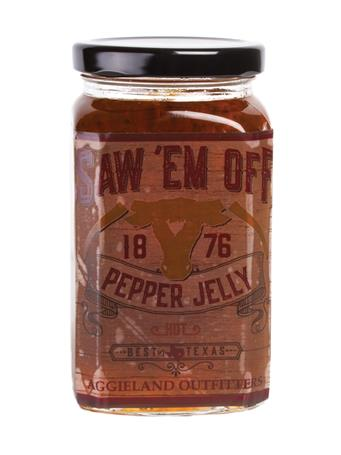 Saw 'Em Off Hot Scotch Bonnet Pepper Jelly