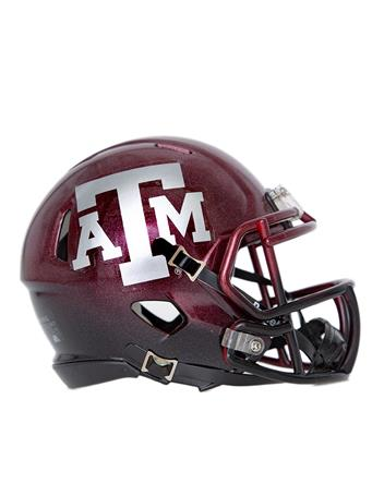 Texas A&M Riddell Alt Speed Mini Helmet