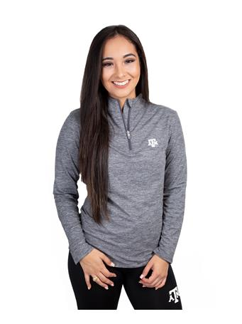 Texas A&M Women's Peached Half-Zip