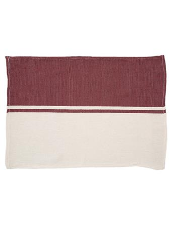 Maroon Nativa Placemat