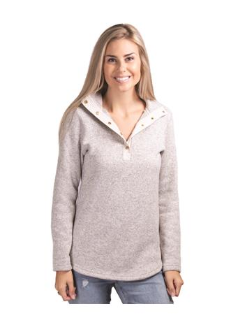 Ladies Hingham Tunic Pullover Oatmeal