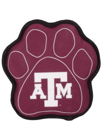 Texas A&M Paw Shaped Squeak Toy