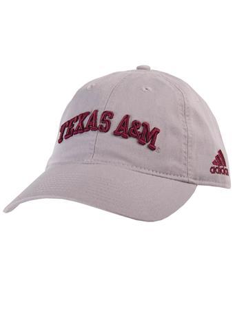 Texas A&M Adidas Adjustable Slouch Cap