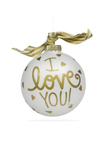 Coton Colors I Love You Ornament