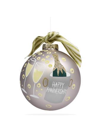 Coton Colors Happy Anniversary Ornament