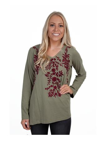 Caite Women's Embroidered Tunic