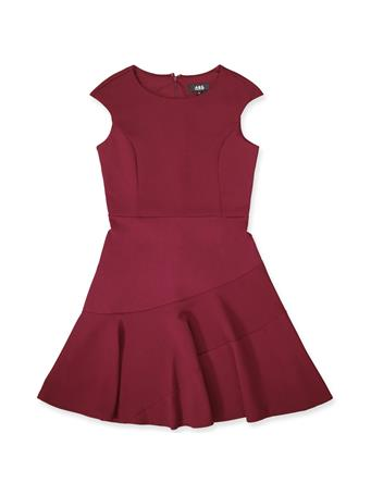 Maroon Women's A-Line Dress