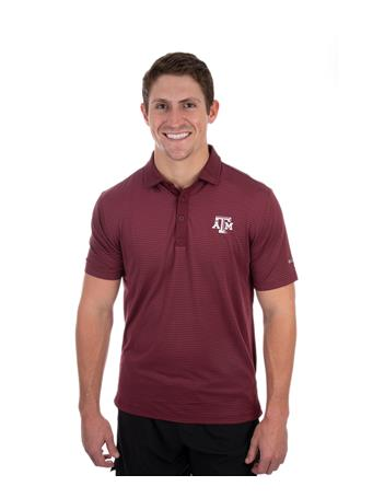 Columbia Texas A&M Omni-Wick Sunday Polo