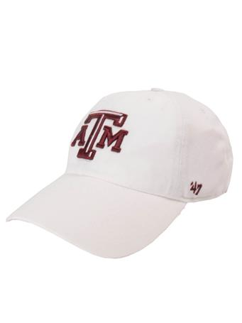 '47 Brand Texas A&M Beveled Clean Up Cap