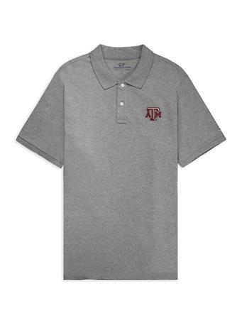 Texas A&M Vineyard Vines Stretch Pique Polo