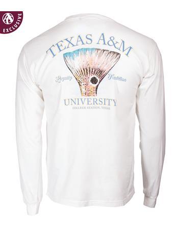 Texas A&M Aggies Red Fish Tail T-Shirt
