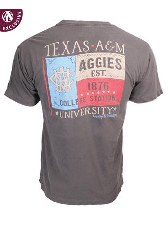 Texas A&M Aggies AMC Texas Flag T-Shirt