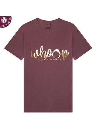 Whooping Aggie Short Sleeve T-Shirt