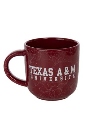 Texas A&M Natural Marble Mug