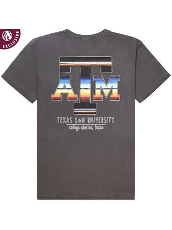 Texas A&M Aggies Color Serape Short Sleeve