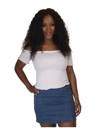 Women's Sage White Crop Top