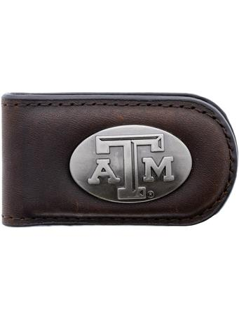 Texas A&M Zepplin Money Clip