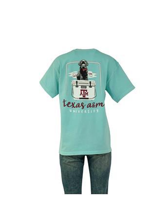 Texas A&M Black Lab Puppy Cooler T-Shirt