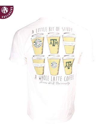 Texas A&M Aggies Whole Latte Coffee T-Shirt