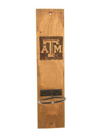 Texas A&M Wine Barrel Candle Sconce