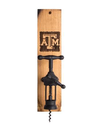 Texas A&M Wine Barrel Wine Bottle Opener