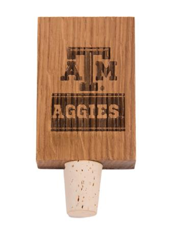 Texas A&M Aggies Stave Bottle Stopper