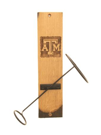 Texas A&M Wine Bottle Display