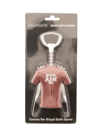 Texas A&M Winged Wine Bottle Opener