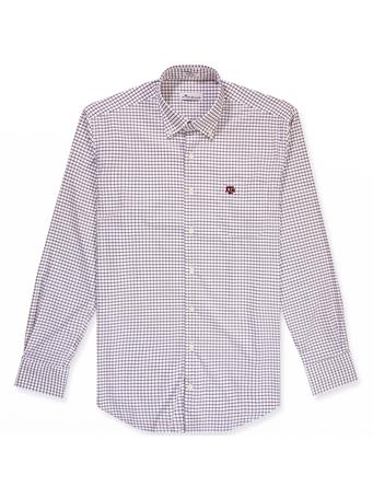 Texas A&M Peter Millar Tattersall Button Down