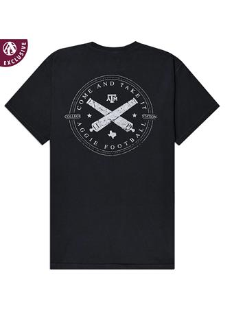 Texas A&M Aggie Football Cannons T-Shirt