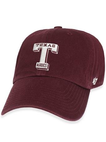 Texas A&M '47 Brand Vault T Clean Up Cap