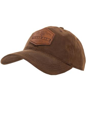 Legacy Dark Brown Waxed Cotton Cap
