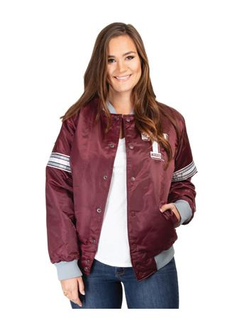 Texas A&M Starter Retro Letterman Jacket