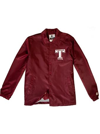 Texas A&M Starter Retro Coaches Jacket