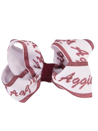 Texas A&M Aggies Logo Toddler Bow Pair