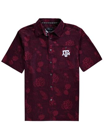 Texas A&M Colosseum Honolulu Camp Button Down