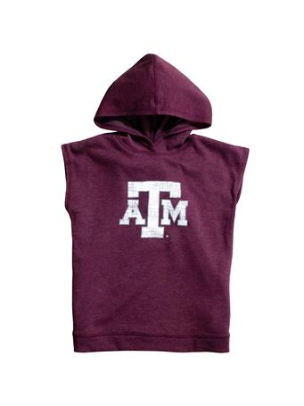 Texas A&M Colosseum Girls Krems Sleeveless Hoodie