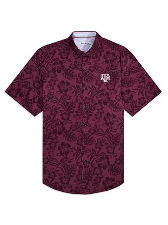 Texas A&M Tommy Bahama Sport Perfect Score Button Down