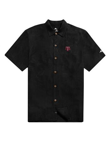 Texas A&M Tommy Bahama Al Fresco Tropics Jacquard Shirt