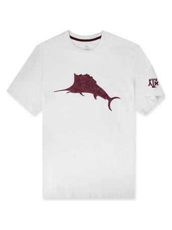 Texas A&M Tommy Bahama Sport Marlin Billboard Tee