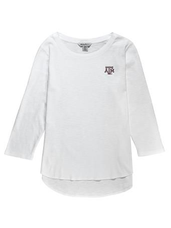 Texas A&M Tommy Bahama Ashby 3/4-Sleeve Tee